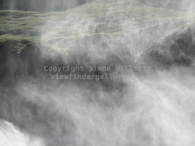 Mist from Dettifoss