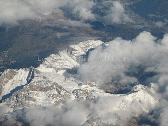 Above Italian Alps